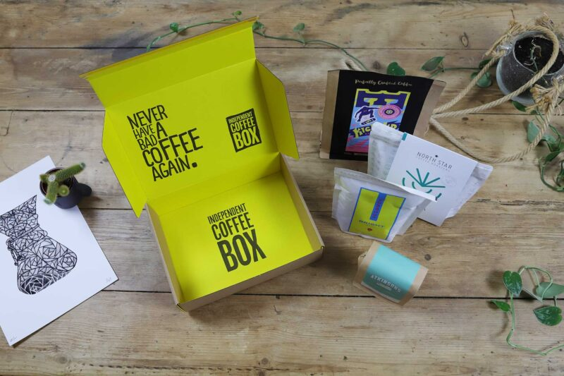 4 bag coffee box