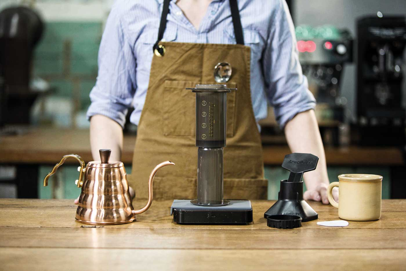 how to brew aeropress