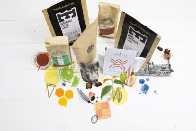 Tasting notes for coffee included in July's coffee subscription box