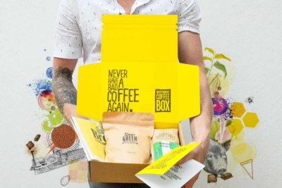 Gift coffee subscription box from Indy Coffee Box