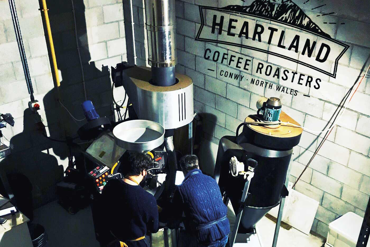 Heartland coffee roasters