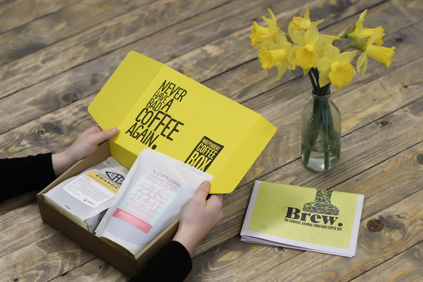 £14.99 & up – Coffee box delivery inc P&P, up to 24% off