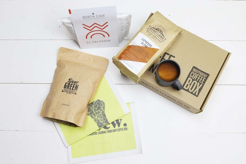 Espresso coffee box subscription July