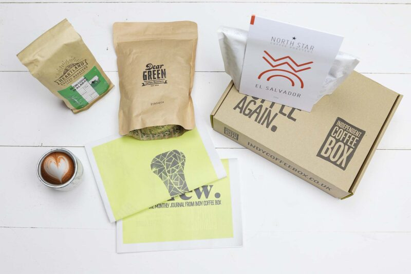 Filter three bag coffee box subscription July