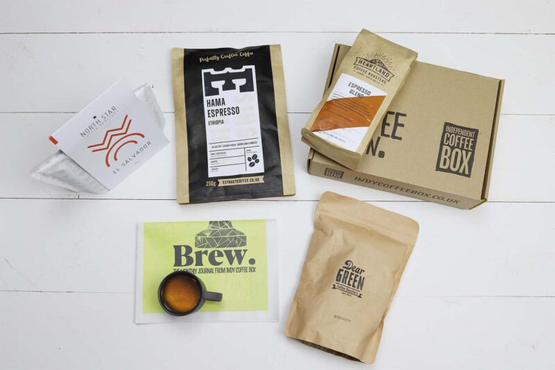 Espresso four bag coffee subscription July