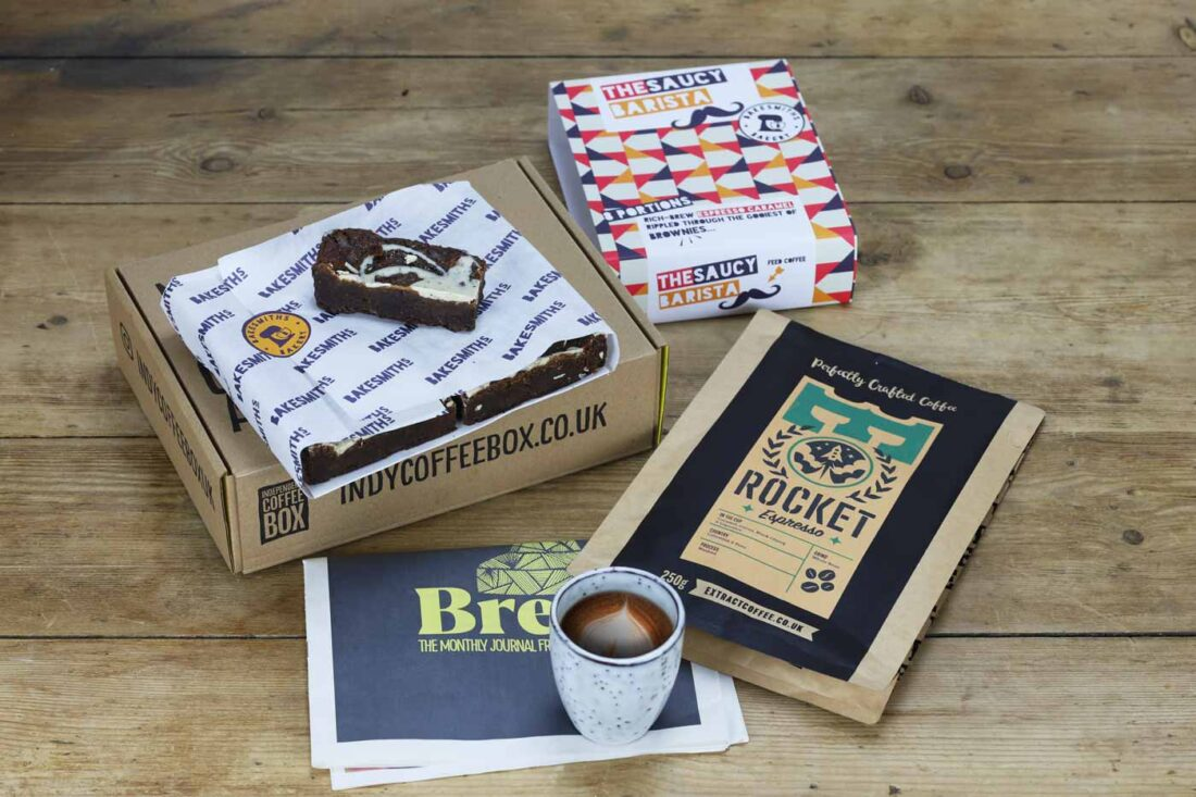 Indy Coffee Box, Cakesmiths and Extract Coffee